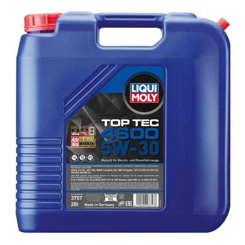 Top Tec 4600 5W-30  20L