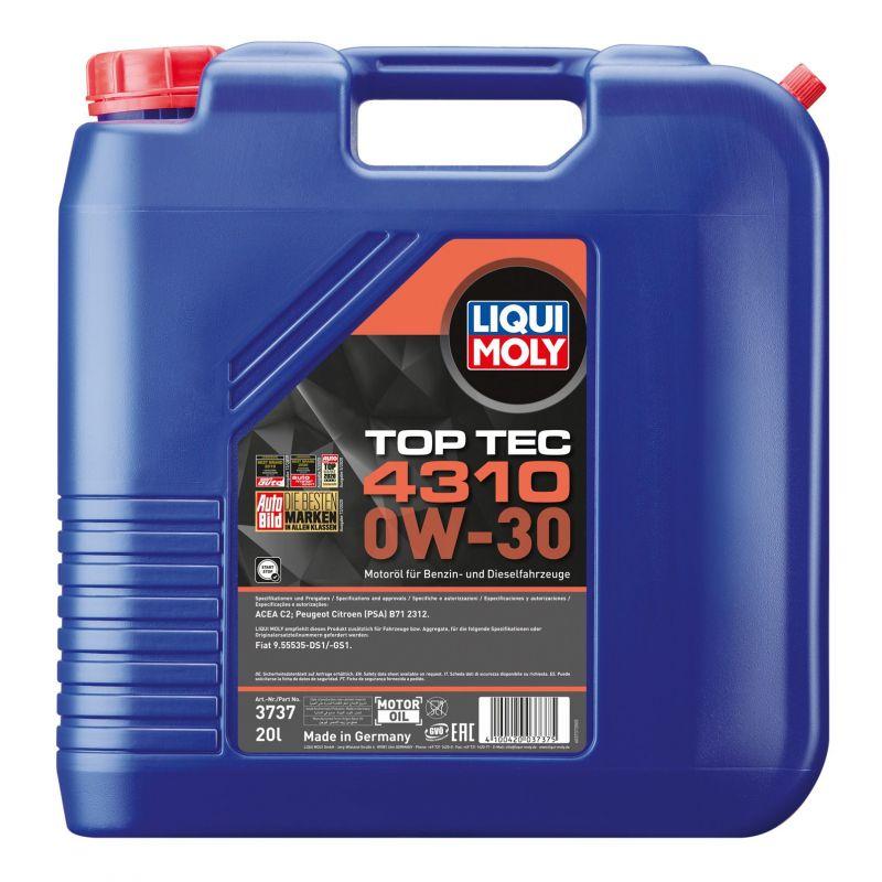 Top Tec 4310 0W-30 20L