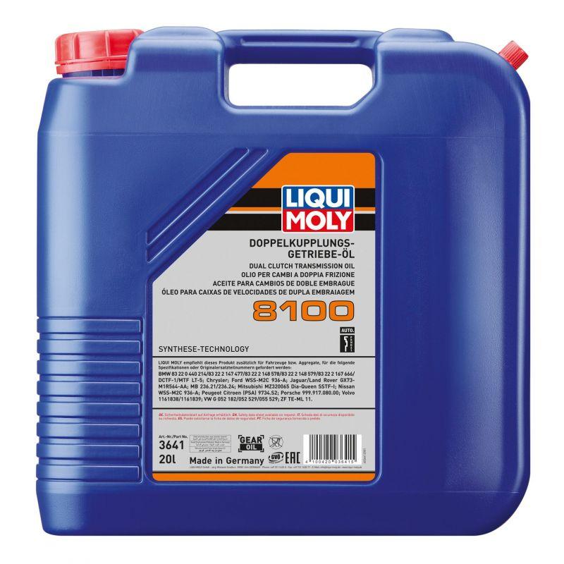 Olej do skrzyni biegów typu DSG, 8100 20L