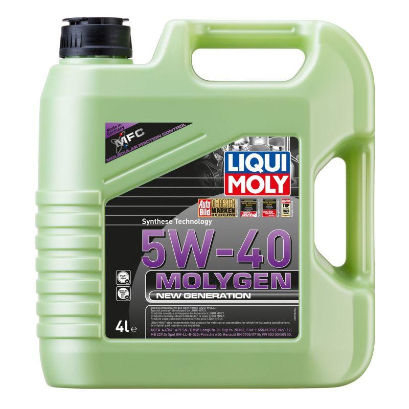 Molygen New Generation 5W-40 4L