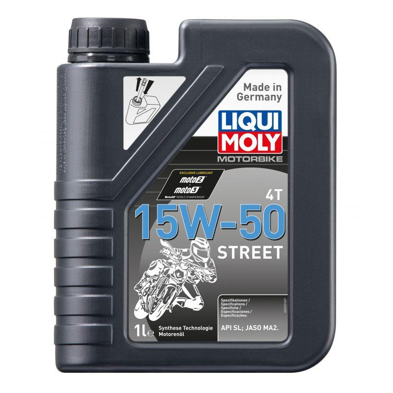 Motorbike 4T 15 W-50 Street 1L