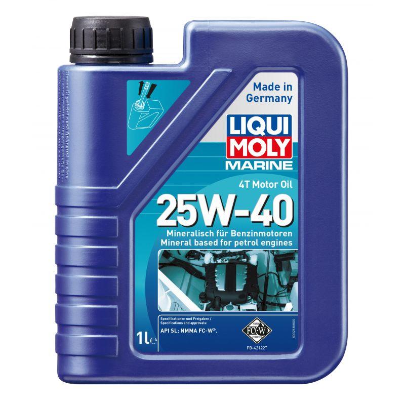 MARINE 4T MOTOR OIL 25W40  1L
