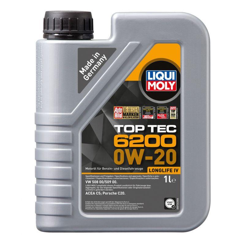 Top Tec 6200 0W-20 1L