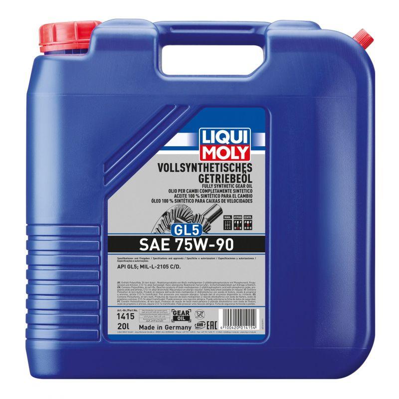W pełni syntetyczny olej przekładniowy GL5 75W-90 20LW pełni syntetyczny olej przekładniowy GL5 75W-90 20LW pełni syntetyczny ol