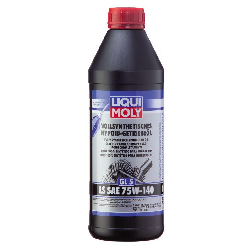 W pełni syntetyczny olej przekładniowy GL5 SAE 75W-140 LS 1LW pełni syntetyczny olej przekładniowy GL5 SAE 75W-140 LS 1LW pełni